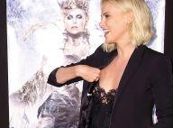 Charlize Theron sexy : Son corset lui joue des tours devant Emily Blunt enceinte