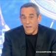 Thierry Ardisson, dans  Salut les terriens  sur Canal+, le samedi 2 avril 2016.