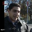 Ary Abittan, chauffeur de taxi, lors de sa première télé au JT de TF1, en 1994.