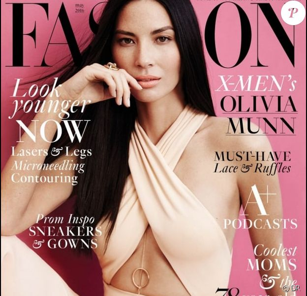 Retrouvez l'intégralité de l'interview de la belle Olivia Munn dans le magazine Fashion, en kiosques le 11 avril 2016.