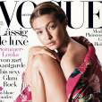 Gigi Hadid en couverture du nouveau Vogue Deutsch. Numéro de mai 2016.
