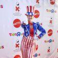 Jamie Lee Curtis à la fête organisée par AIDS pour Halloween, le 25/10/08