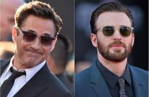 Robert Downey Jr. : Un Iron Man amoureux face à son rival Captain America