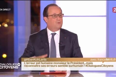 Koh-Lanta : Un ancien candidat interpelle François Hollande en direct à la télé