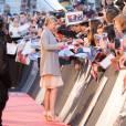 """Emily VanCamp - Arrivée des people à l'avant-première du film """"Captain America : Civil War"""" au Grand Rex à Paris, le 18 avril 2016."""