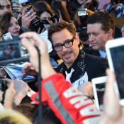 Robert Downey Jr. électrise Paris... et déclare sa flamme à une Iron Lady !