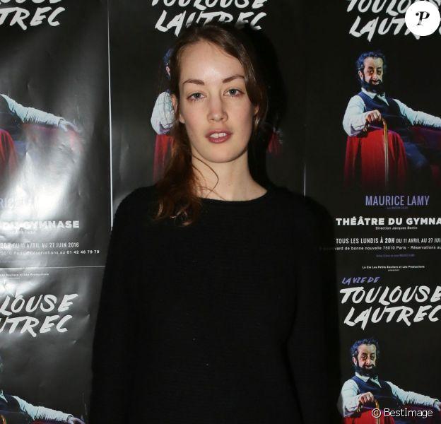 """Juliette Besson - Générale de la pièce """"La vie de Toulouse Lautrec"""" au théâtre du Gymnase à Paris le 18 avril 2016 © CVS / Bestimage18/04/2016 - Paris"""