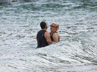 Hugh Jackman et sa femme : Baignade romantique d'un couple solide comme un roc