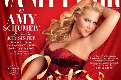 Amy Schumer : Pin-up hot pour Vanity Fair