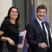 Aurélie Filippetti et Arnaud Montebourg : Baptême civil pour leur petite Jeanne