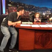Jimmy Kimmel : Le célèbre animateur remplacé... par son adorable petite fille !