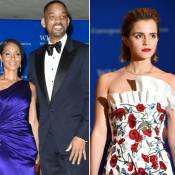 Dîner avec les Obama : Will Smith amoureux face à une Emma Watson radieuse