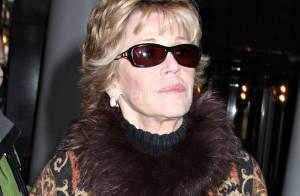 REPORTAGE PHOTOS : Jane Fonda, 70 ans... toujours aussi  belle et élégante !