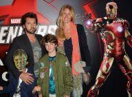 Frédéric Diefenthal : Avec son fils Gabriel et sa chérie, il défie les Avengers