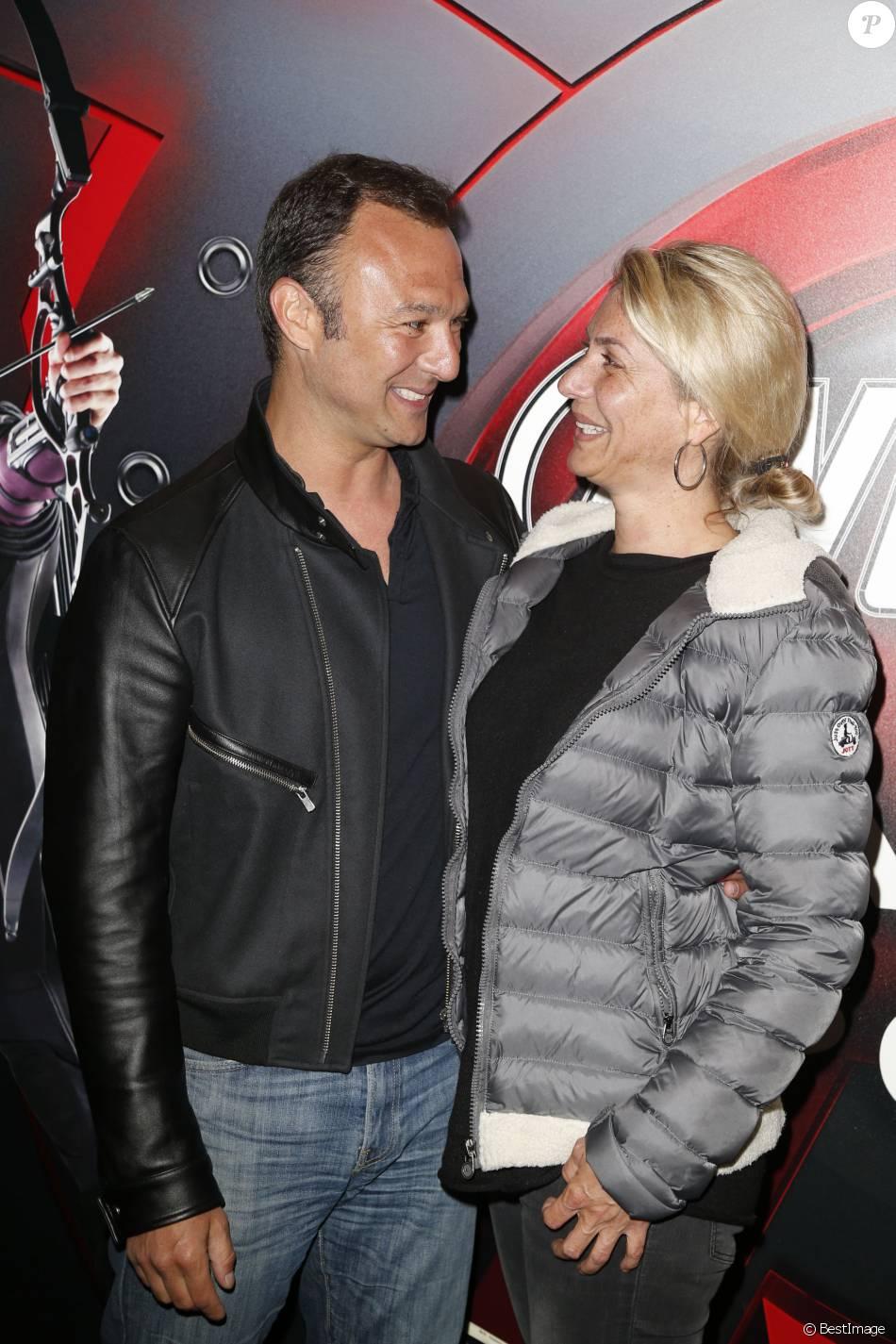 Alexandre devoise et sa femme anca vernissage de l 39 expositionmarvel avengers s t a t i o n - Alexandre jardin et sa femme ...