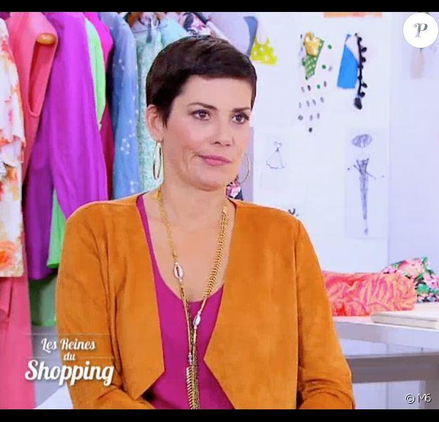"""Cristina Cordula clashe Laurie, une candidate qui ne manque pas de confiance en elle. Le 3 mai 2016 dans """"Les Reines du shopping"""" sur M6."""