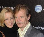 Felicity Huffman et William H. Macy à la soirée BlackBerry, à Los Angeles, le 30/10/08