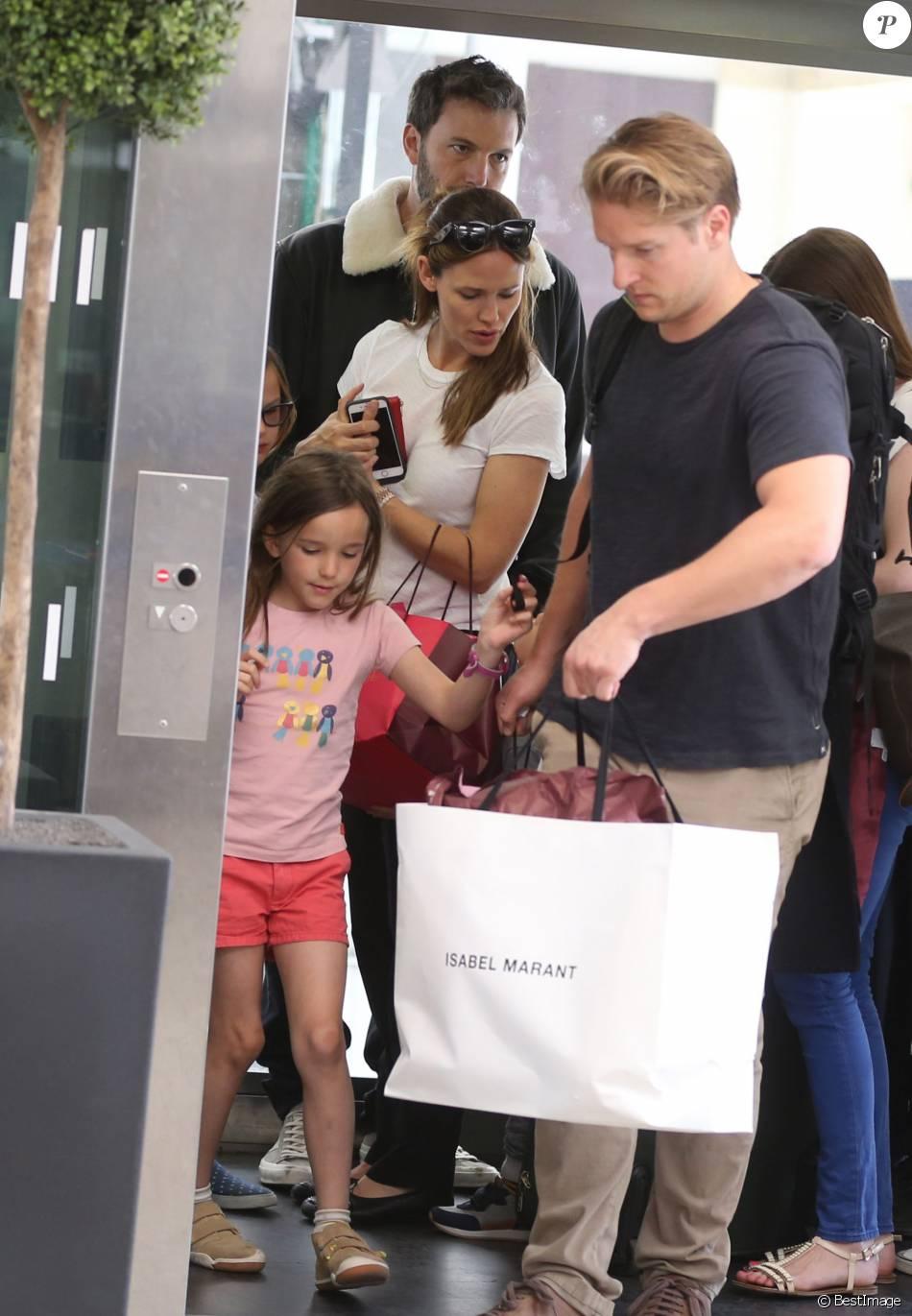 Jennifer Garner et Ben Affleck quittent Paris : Fin du ... Ben Affleck Divorce