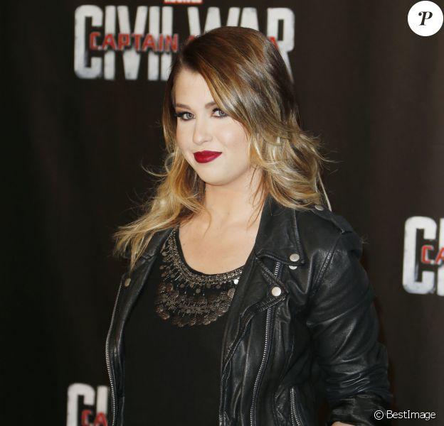 "EnjoyPhoenix (Marie Lopez) - Avant-première du film ""Captain America : Civil War"" au Grand Rex à Paris, le 18 avril 2016. © Christophe Aubert via Bestimage"
