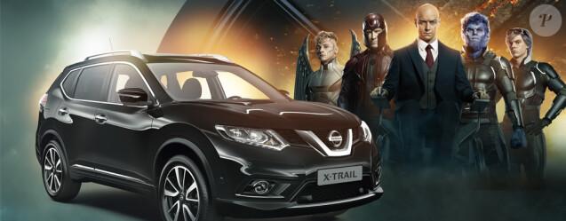 Quand le X-TRAIL de Nissan rencontre les X-MEN