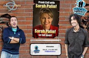 VIDEO + PHOTOS : Quand un faux Nicolas Sarkozy... piège la vraie Sarah Palin ! On ne s'en lasse pas ! (réactualisé)