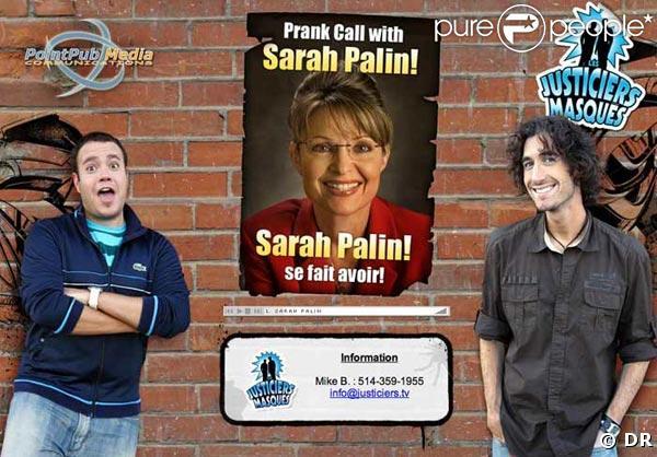 Le canular Sarko-Palin