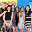 "Gordon Ramsay en famille à la soirée ""Nickelodeon's 28th Annual Kids' Choice Awards"" à Inglewood, le 28 mars 2015"