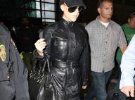 REPORTAGE PHOTOS : Victoria Beckham adopte un look de motarde maintenant !