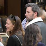 Jennifer Garner et Ben Affleck : Dîner, glace, baiser... Virée en famille à Paris