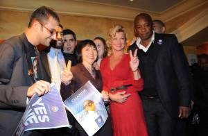 REPORTAGE PHOTOS : Jeane Manson en pleine réunion avec... la fille de Jacques Chirac !