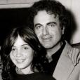 Emmanuelle Béart avec son père. Photo postée le 22 septembre 2015.