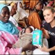 Exclusif - Laeticia Hallyday, marraine de l'Unicef, en visite au Sénégal en 2008.
