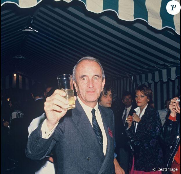 André Rousselet lors de la soirée Canal+ en 1985