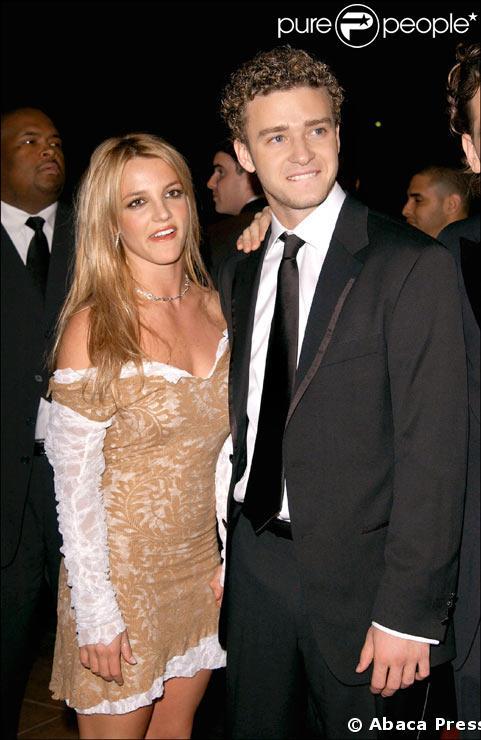 Britney Spears et Justin Timberlake en 2002
