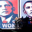 Madonna fête la victoire de Barack Obama à San DIego