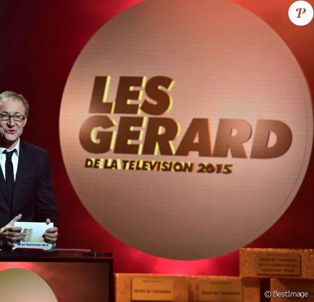 Alexandre Pesle et Frédéric Royer - 9e cérémonie des Gérard de la Télévision au théâtre Daunou à Paris, le 19 janvier 2015.