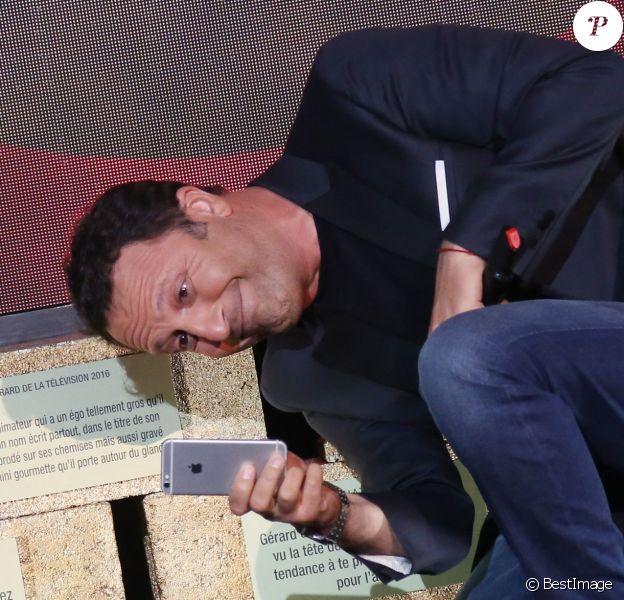 Arthur - 10e cérémonie des Gérard de la Télévision au théatre Daunou à Paris le 30 mai 2016. © Denis Guignebourg/BestImage