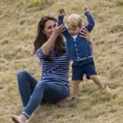 Kate Middleton et William emmènent George et Charlotte voir les chevaux
