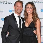 Jenson Button et la bombe Brittny Ward in love devant la princesse Eugenie