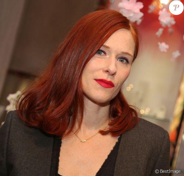 """Exclusif - Audrey Fleurot - Soirée Baccarat """"Wedding in Colour"""" à Paris le 22 janvier 2016."""
