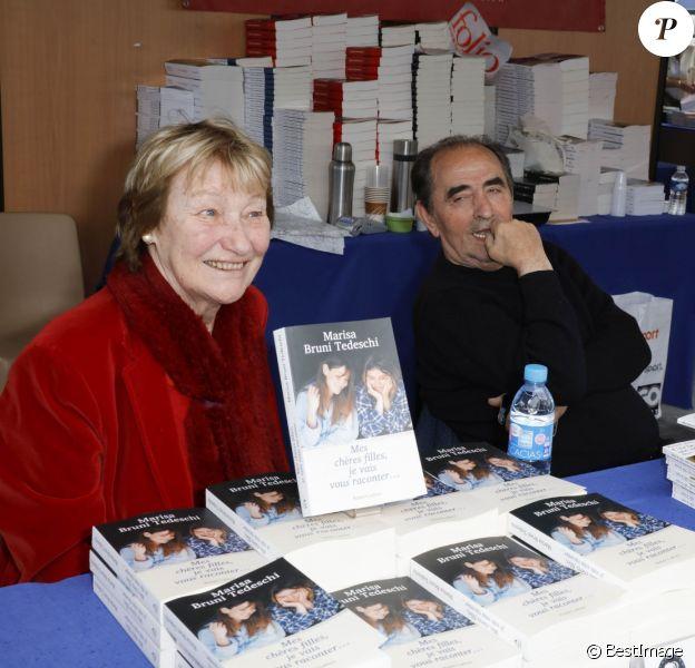 Marisa Bruni Tedeschi et Richard Bohringer - Inauguration du Festival du livre à Nice le 3 juin 2016.