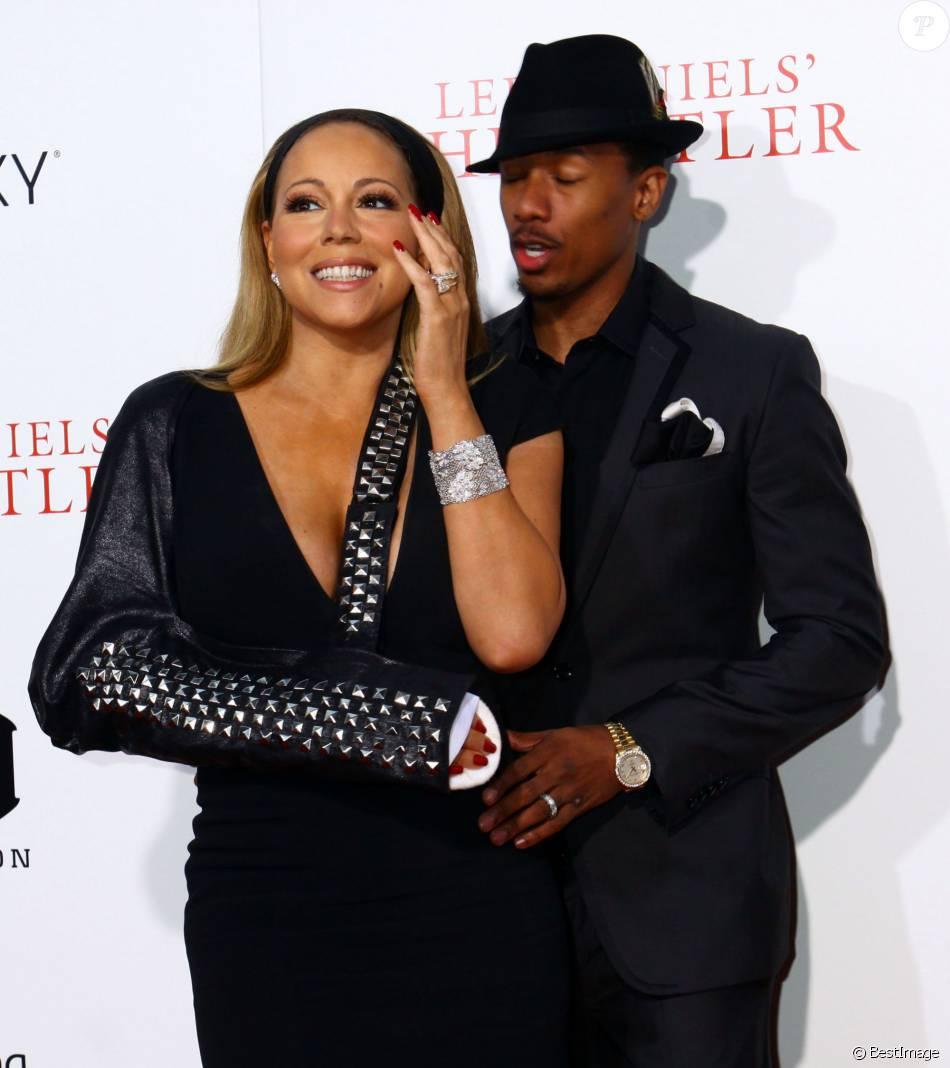 """Nick Cannon et Mariah Carey - Premiere du film """"The Butler"""" (Le Majordome) à New York, le 5 août 2013."""
