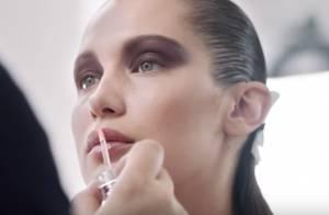 Bella Hadid captivante égérie beauté, les coulisses de son look graphique