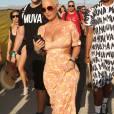 Amber Rose lors du 3ème jour du festival de musique Coachella en Californie, le 17 avril 2016