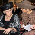 La reine Beatrix et Maxima des Pays-Bas