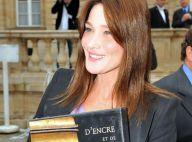 REPORTAGE PHOTOS : Carla Bruni en showcase... au Sénat ! (réactualisé, toutes les photos)
