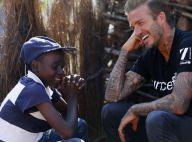 David Beckham fier mais très ému lors d'un voyage bouleversant