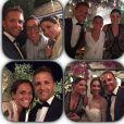 Domenico Criscito au mariage de Flavia Pennetta et Fabio Fognini le 11 juin 2016 en Italie, photo Instagram.