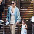 Kim Kardashian et sa soeur Kourtney Kardashian ont emmené leurs enfants North West, Mason Disick, Reign Disick et Penelope Disick à un anniversaire à Studio City, le 14 mai 2016