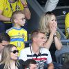Euro 2016 : Zlatan Ibrahimovic à la peine, son épouse et leurs enfants déchaînés
